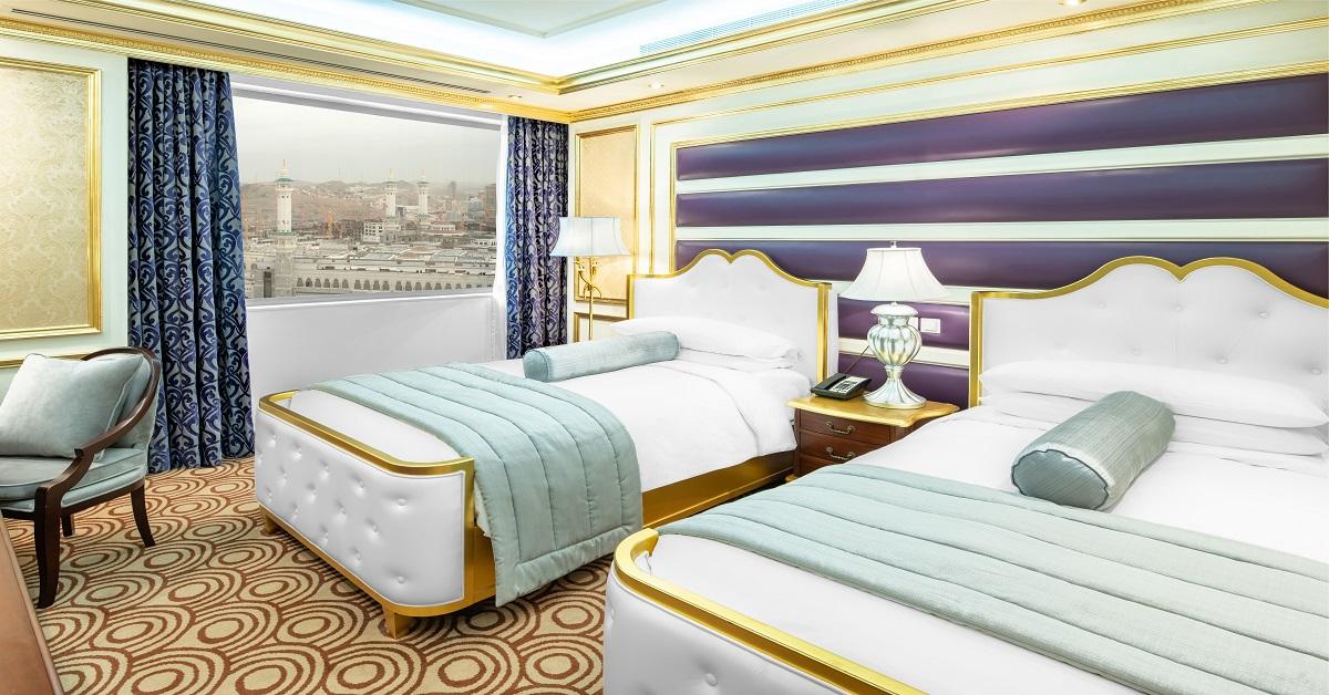 اربع غرف نوم