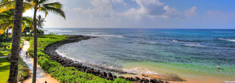 Poipu Beach from Koa Kea Resort & Spa