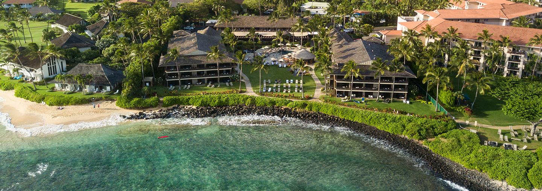 Ko'a Kea Resort Aerial View