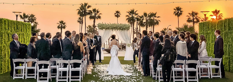 Orange County Beach Wedding, Huntington Beach Wedding Venue