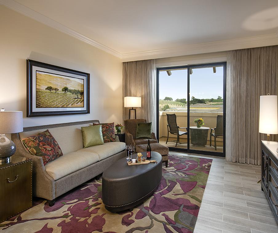 Vista Collina Suite Living Room