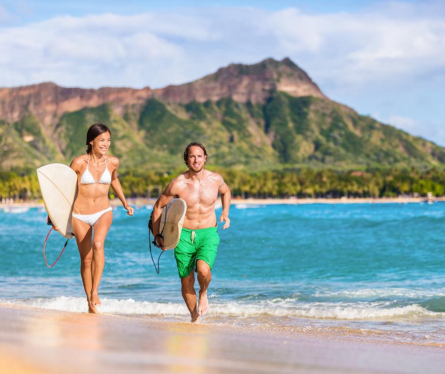 Kauai Beach Couple