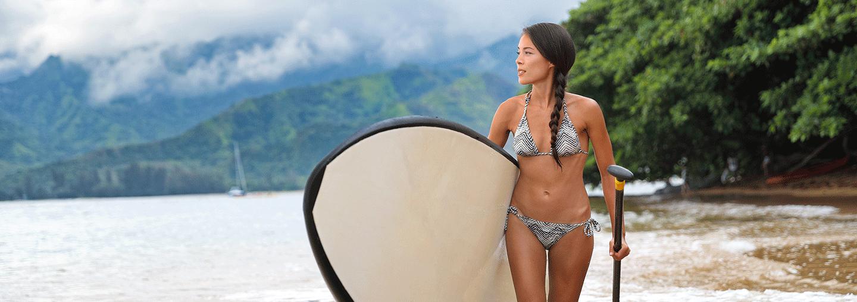 Island Paddle Boarder