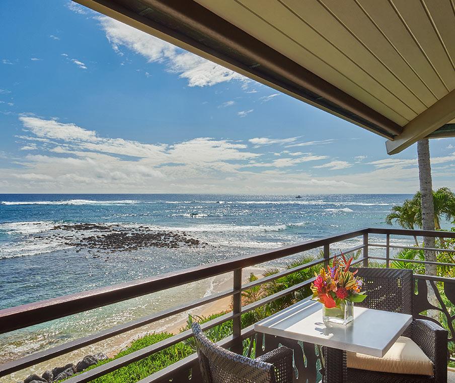 lanai with ocean view