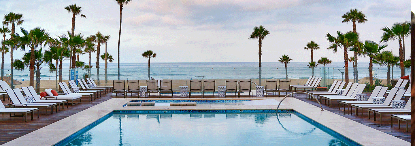Pool with Ocean View