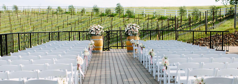 Vineyard Deck Wedding at The Meritage Resort and Spa