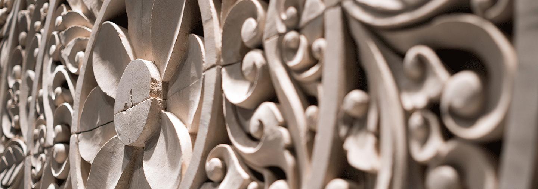 Balinese stone details