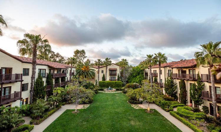 La Jolla Hotel Gardens