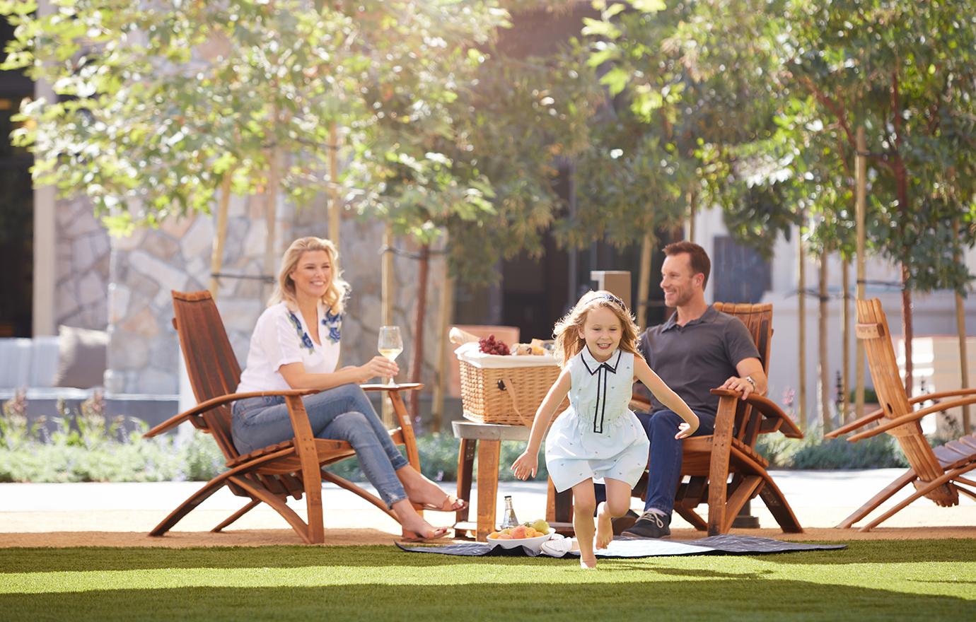 new outdoor amenities