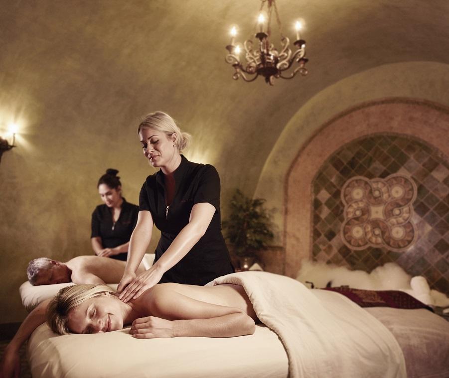 Spa Terra Massage in the Estate Cave