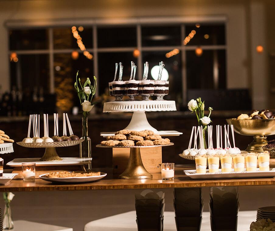 Dessert Buffet Spread