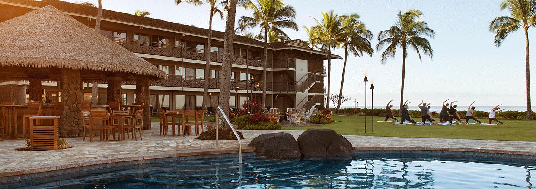 Morning Yoga By Koa Kea Hotel Pool