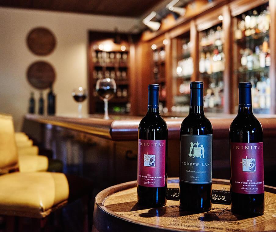 Trinitas Cellars At Hotel Wine Bar