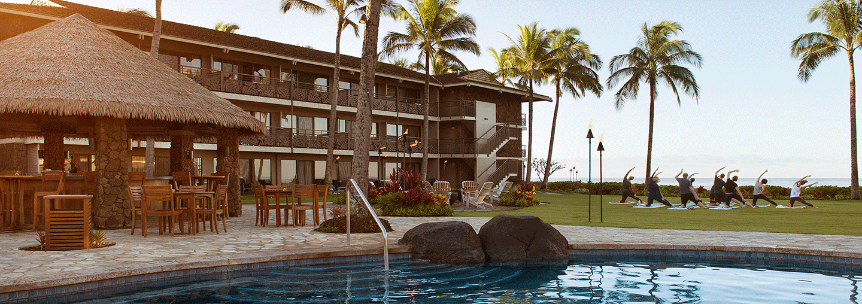 oceanfront yoga on koloa hawaii