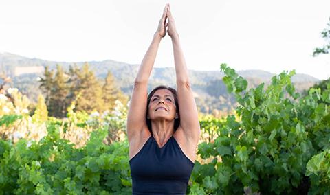 08/07 Vineyard Yoga Hike