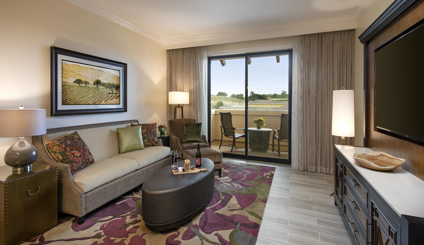 Napa Hotel Room With Balcony