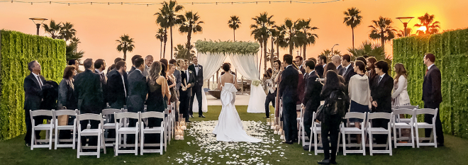Mobile: Lawn Wedding Venue With Ocean View