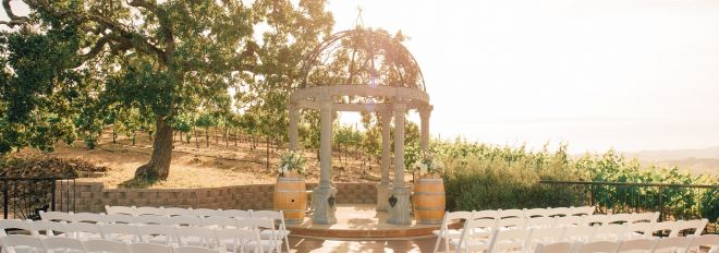 Mobile: Vineyard Deck Wedding at The Meritage Resort and Spa