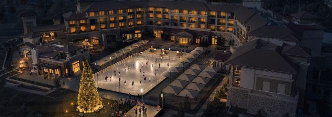 Mobile: Ice Rink at Vista Collina Resort