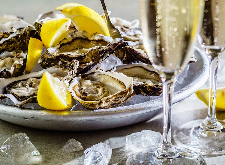 The Better Half: Champagne and Oysters