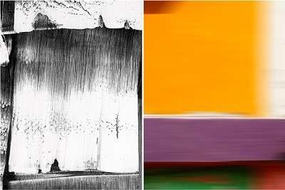 Untitled Diptych #1 | Olivella Private Dining Room 2