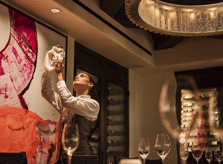 Olivella Private Wine Room