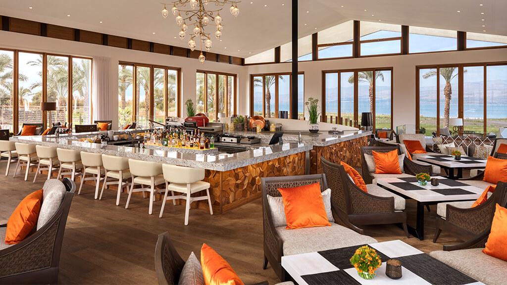 The Setai Sea of Galilee lounge bar