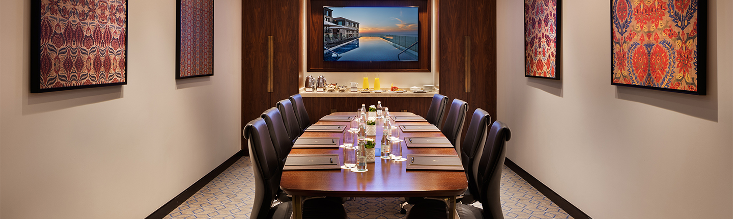 Meeting and Events at The Setai Tel Aviv